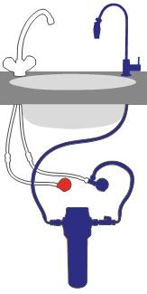 Alvito Einbau Wasserfilter A