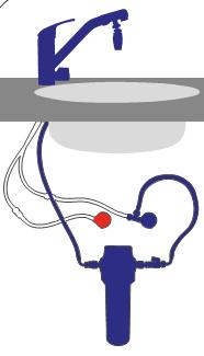 Alvito Einbau Wasserfilter B