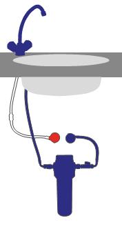 Alvito Einbau Wasserfilter C
